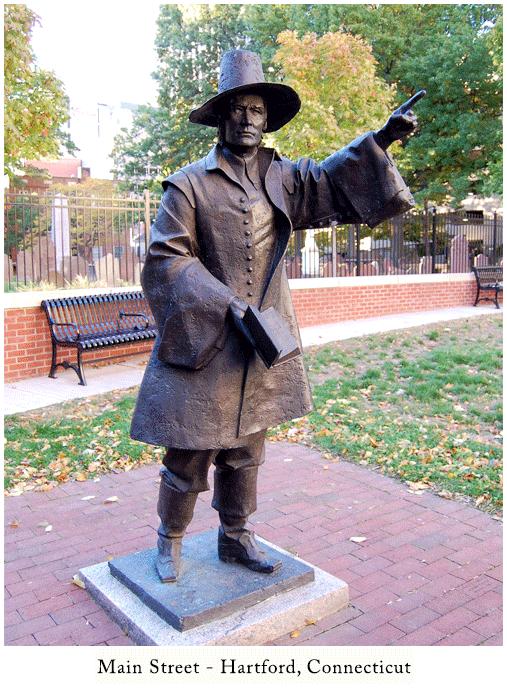 Hartford-Statue