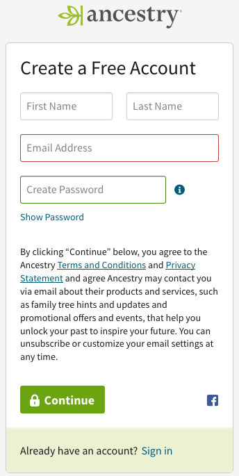 Ancestry-Signup-image