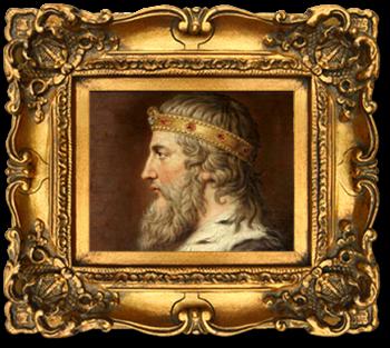 Framed-King-Alfred