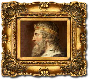Framed-King-Alfred