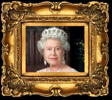 Framed-Queen-Elizabeth